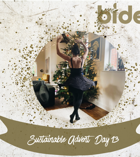 Sustainable Advent Day Thirteen: frock swap