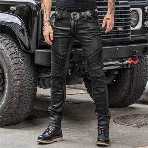 Motorcycle Pants Four Seasons Windproof & Drop-Resistant Coated Riding