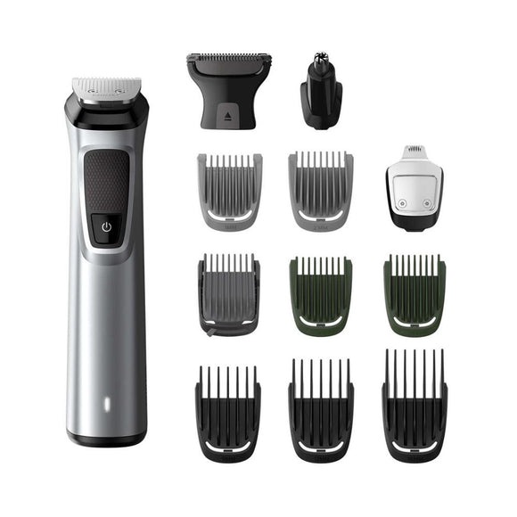 Philips Professional 13 in 1 Man Grooming Kit Mg7715/15 – Great for Barbers and Stylists – Run Time Cordless 120 Minutes Over