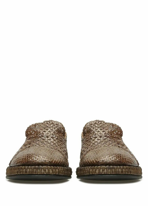 DOLCE GABBANA - MEN SHOES - KNITTED TEXTURED  - BROWN - LOAFER -  2020 SEASON