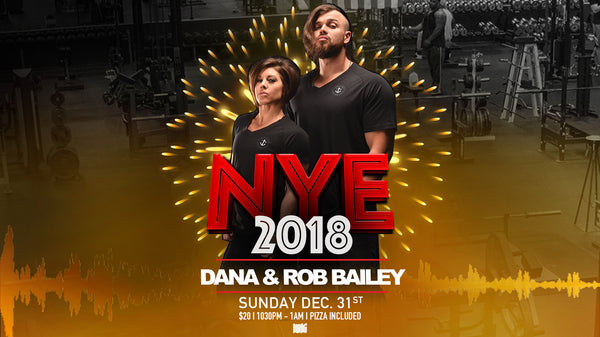 3RD ANNUAL NYE PARTY -  BALL DROP WITH THE BAILEY'S