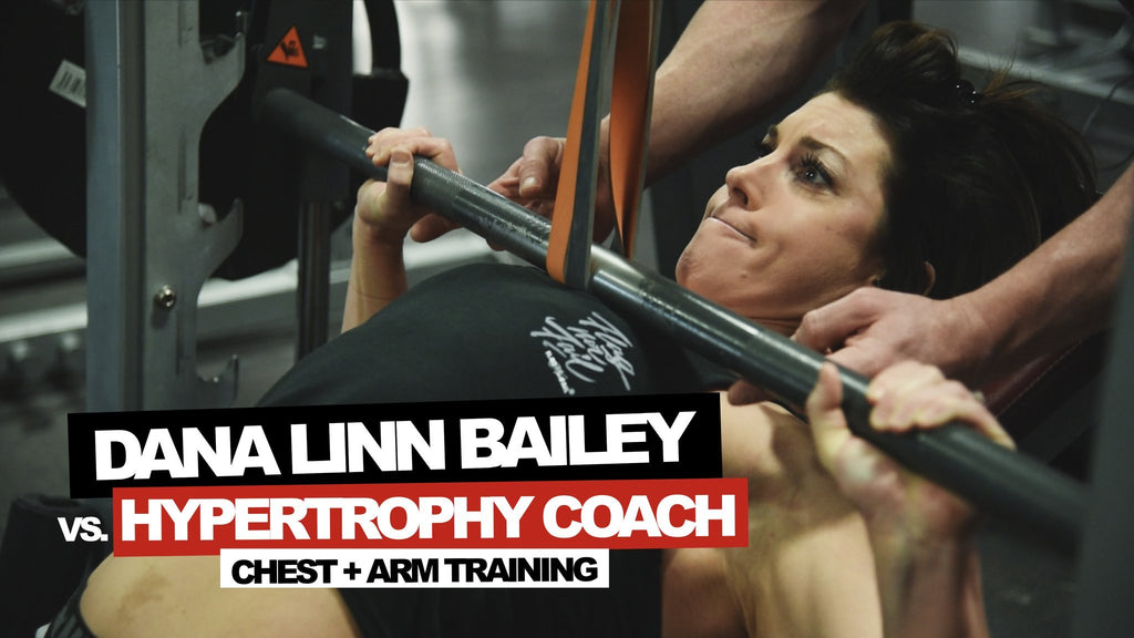 DLB VS. HYPERTROPHY COACH | CHEST + ARMS