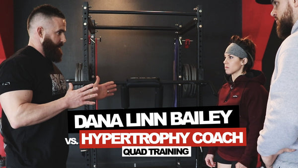DLB vs. Hypertrophy Coach | Quad Training