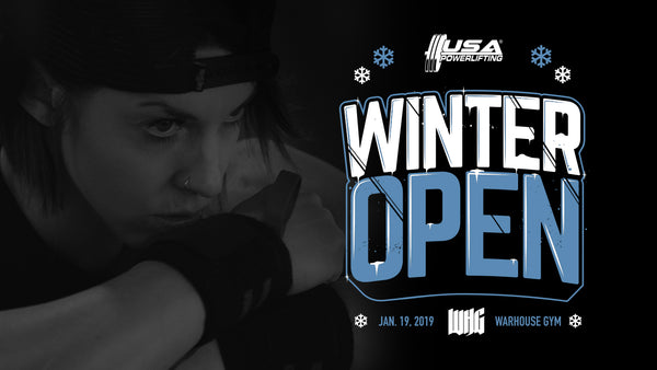 WHG Winter Open Meet | SATURDAY 01.19.19