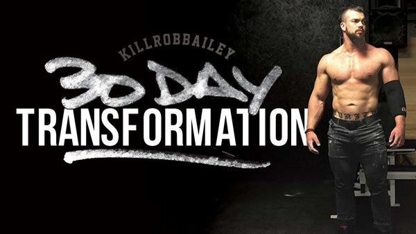 Rob Bailey 30 Day Transformation | Rebirth & Habits | Ep.1