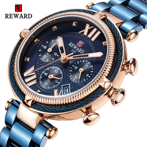 Reward Luxury Chronograph Watch