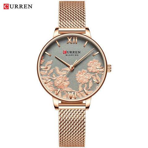 Curren Casual Stainless Steel Watch