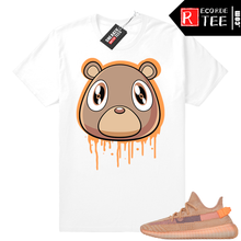 Load image into Gallery viewer, Yeezy 350 Clay | Bear Drip | White shirt