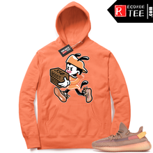Load image into Gallery viewer, Yeezy 350 Clay | Double Up | Bright Orange Hoodie