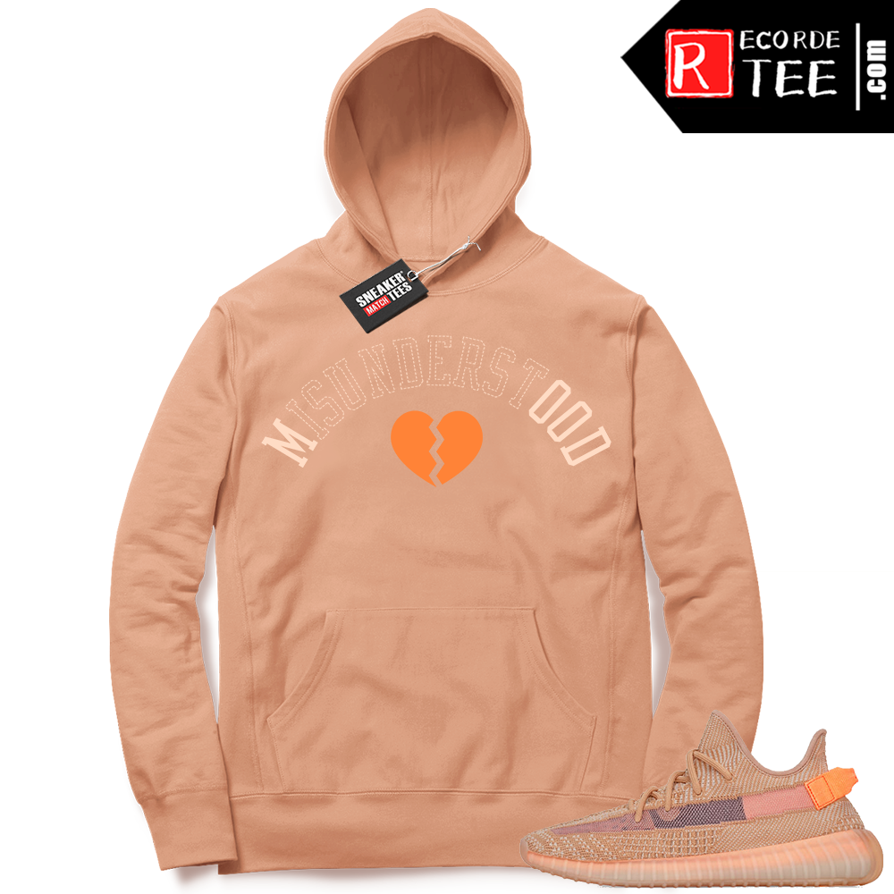 Yeezy 350 Clay | Misunderstood | Light Clay Hoodie