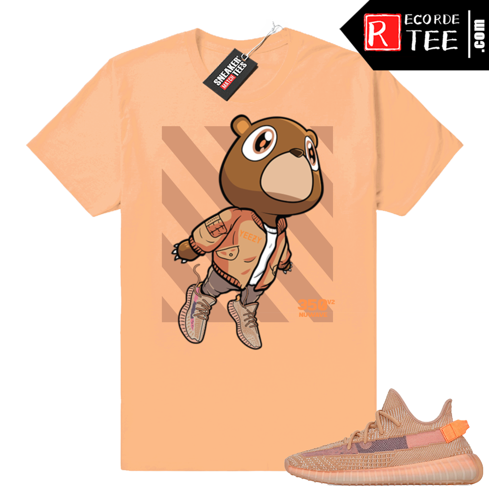 Yeezy 350 Clay | Bear Boost 350 | Light Clay shirt