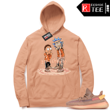 Load image into Gallery viewer, 【Hot Sale】Yeezy 350 Clay | Get Schwifty | Light Clay Hoodie