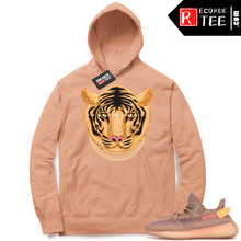 Load image into Gallery viewer, Yeezy 350 Clay | Designer Tiger | Light Clay Hoodie