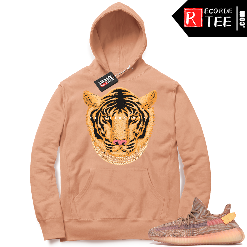 Yeezy 350 Clay | Designer Tiger | Light Clay Hoodie