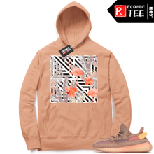 Load image into Gallery viewer, Yeezy 350 Clay | NuWave Flamingos | Light Clay Hoodie