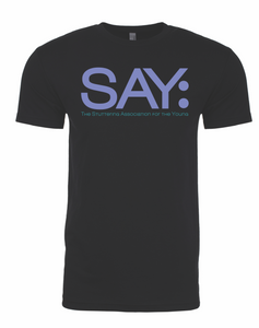 SAY Logo T-Shirt