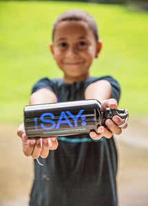 SAY Logo Water Bottle