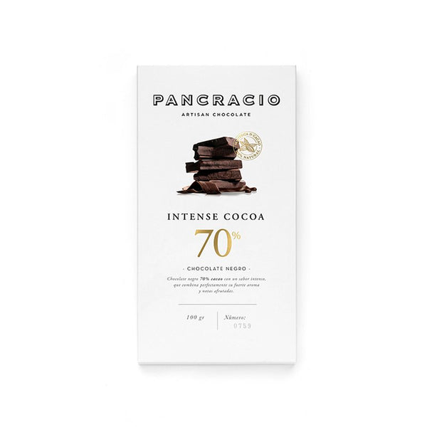 Chocolate negro intense cocoa 70%