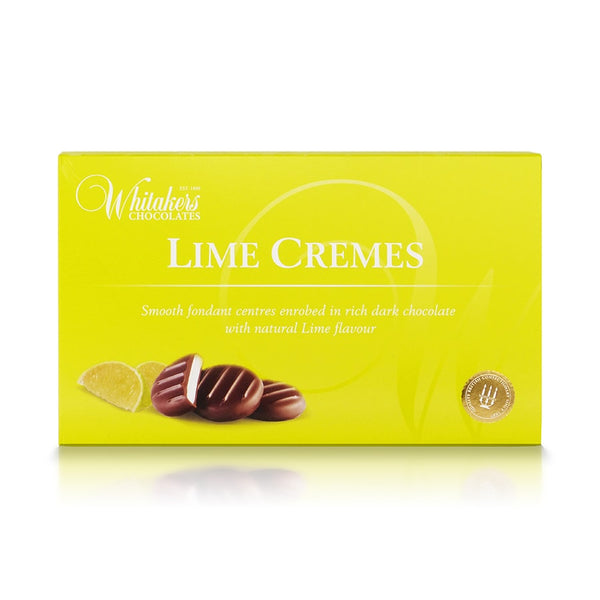 Bombón Lime Cremes - Whitakers (9 unidades)