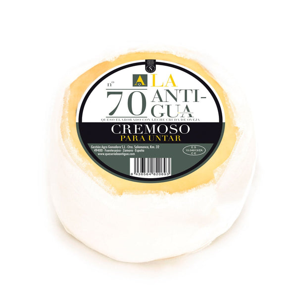 Queso Cremoso de Oveja Mini - La Antigua 550g