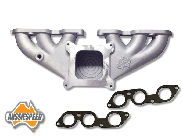 AS0011-AS0236I Aussiespeed® 4 Barrel Ford Six 250 2V Performance Manifold
