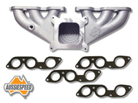 AS0011-AS0236Ix2  Aussiespeed® 4 Barrel Ford Six 250 2V Performance Manifold