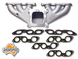 AS0011-AS0251-AS0236Ix2 Aussiespeed® 4 Barrel Ford Six 250 2V Performance Manifold Kit
