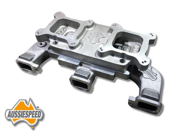 AS0038/AS0139 Inline Chevy 250 292 Dual 2x4 Intake Manifold