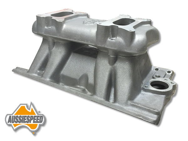 AS0050 AS0063 Holden V8 Tunnel Ram Manifold Dual 2x2 Carburettors