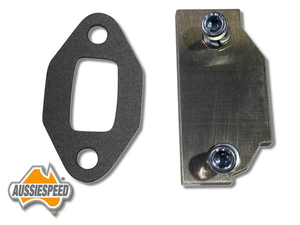 AS0136R-KIT Holden V8 EFI Timing Cover Fuel Pump Block Off Plate