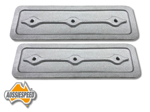 AS0064R Holden 6 Alloy Side Plates Retro Style Raw