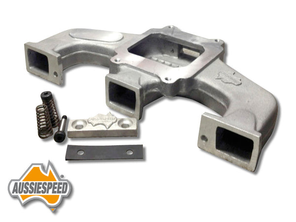 AS0075 Holden 6 Supercharger Manifold 12 Port Head