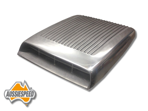 AS0090P Ford GT Alloy Shaker Style Bonnet Scoop Polished Finish