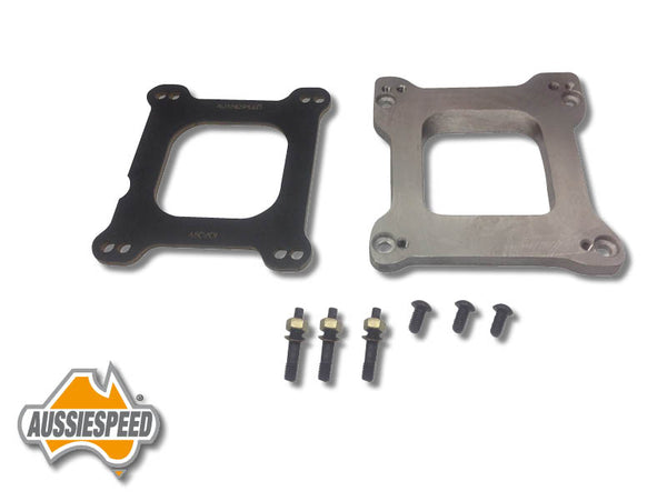 AS0110K Holley Squarebore Carburettor Adapter Sideways Kit