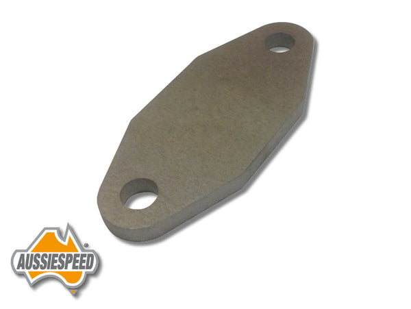 AS0141R Plate to Block Off Fuel Pump Block Ford V8 Cleveland Raw