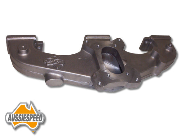 AS0169DP Holden Blue, Black Motor Manifold 2 Barrel ADM Weber