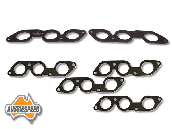 AS0251-AS0236i x 2 Ford 2V 250 Heat Shield Inlet Manifold and Gasket Set