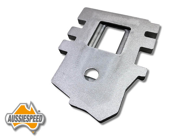 AS0510RC Supercharger Adaptor GM M90 Baseplate Raw