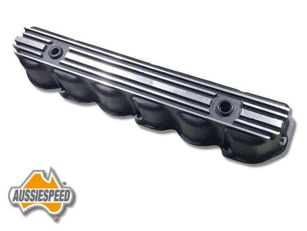 AS0544B Ford Big 6 Aluminium Valve Cover 240 300 CI Texture Black