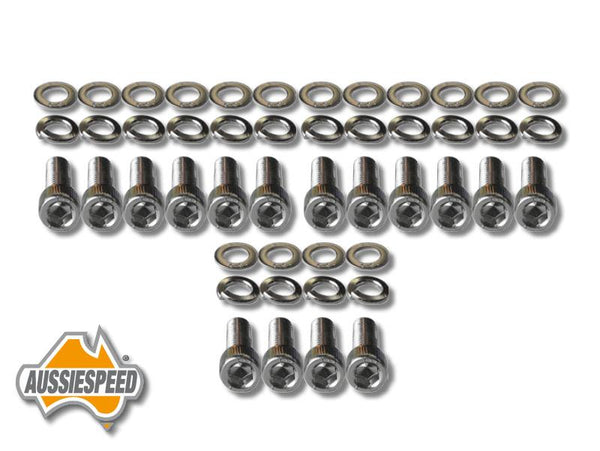 AS0573 Ford V8 Cleveland Rocker Cover Bolt Kit For Aussiespeed Valve Covers
