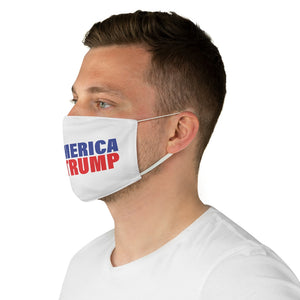 Pro-America, Anti-Trump Face Mask