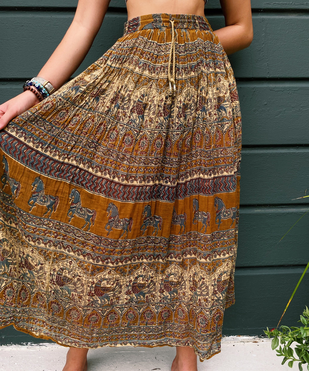 Down to Earth Maxi Skirt