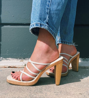 Strappy and Sweet Heels