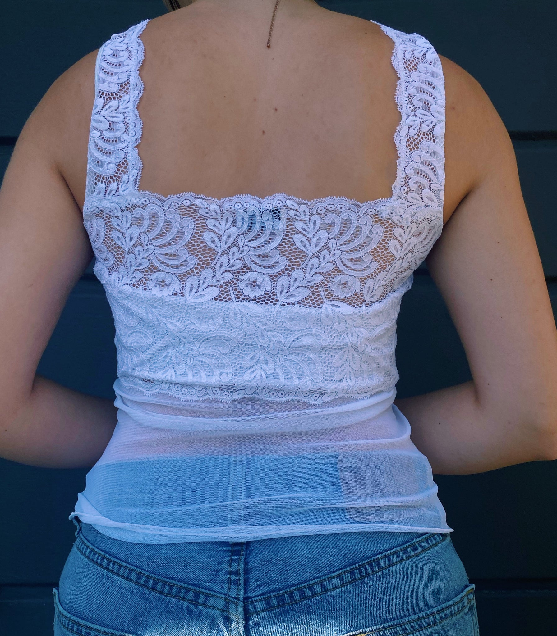 Baby Doll Lace Top