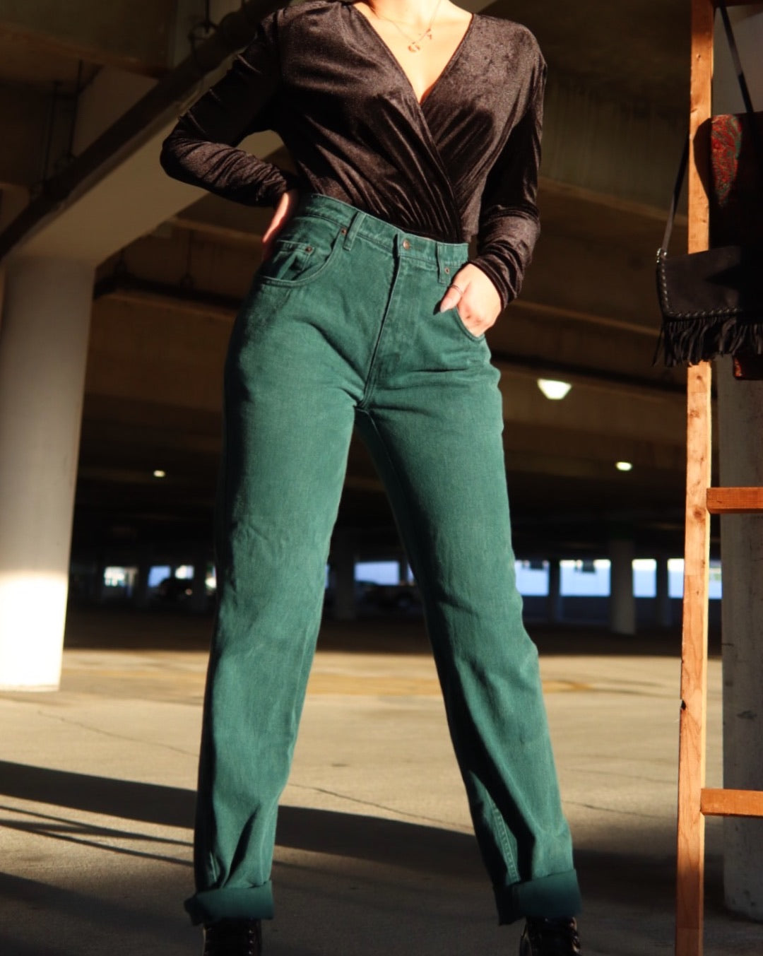 Emerald City Vintage Mom Jeans