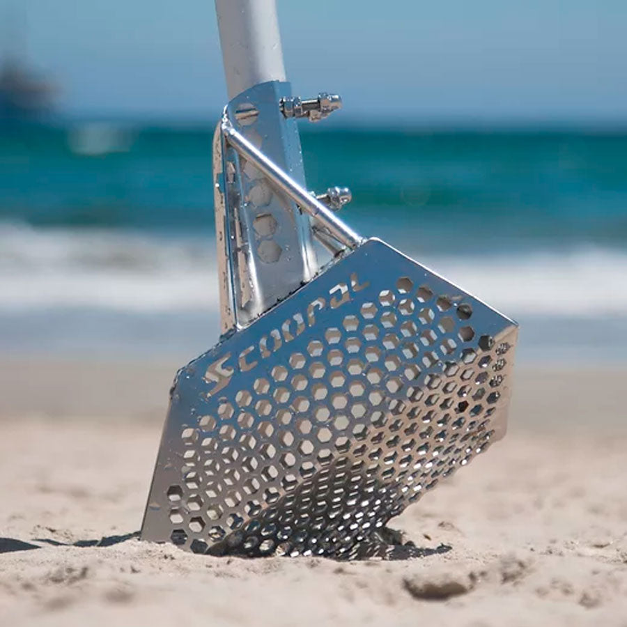 Sand Scoop Quest Scoopal Acero Inoxidable