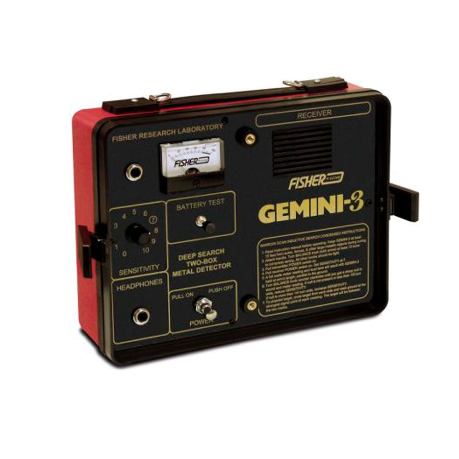 Detector de Metales Fisher Gemini 3