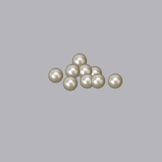 No Hole Ivory Pearls 1 Pound Pack for Vase Decorations and Table Scatter