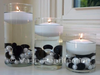 "3"" Ivory Floating Candles set of 4"