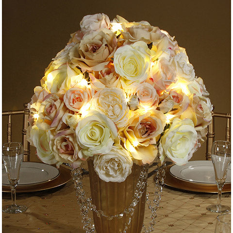 20 Mini–Led Fairy Warm White String Lights by David Tutera